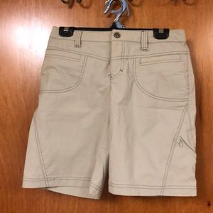 Athleta dipper short tan khaki 4